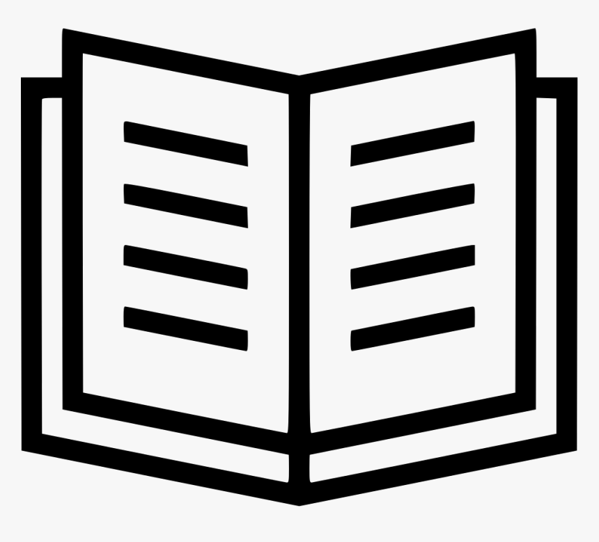 Literature Book Reading Open - Open Book Bookmark Icon, HD Png Download, Free Download