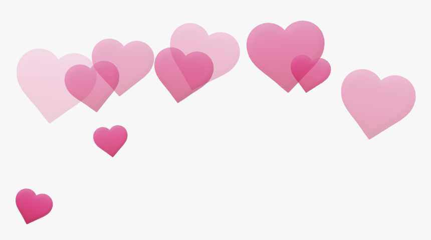 Transparent Hearts - Photobooth Hearts Png, Png Download, Free Download