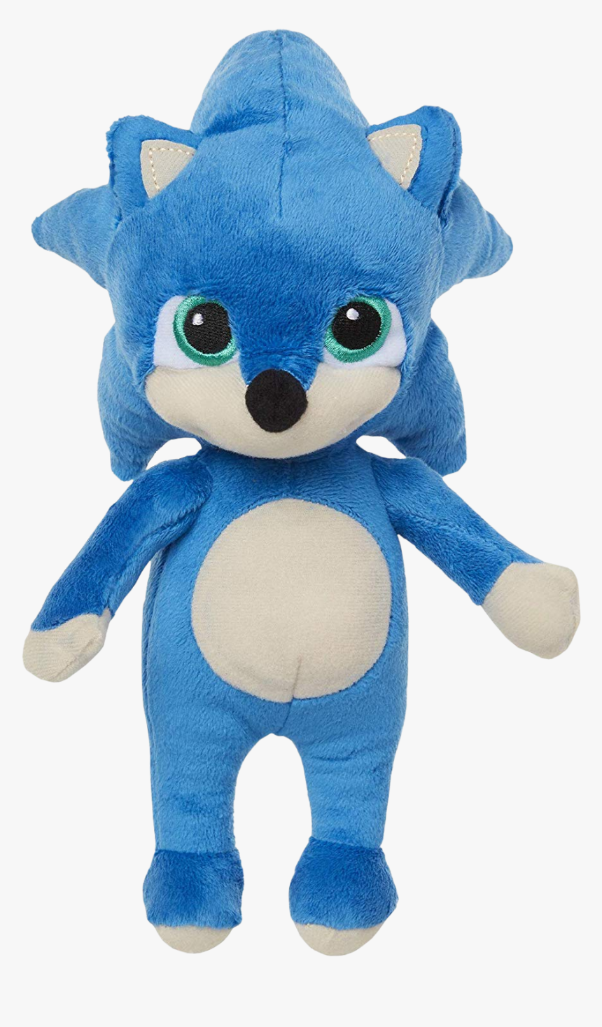 Sonic The Hedgehog Sonic Movie Baby Sonic Plush Hd Png Download Kindpng