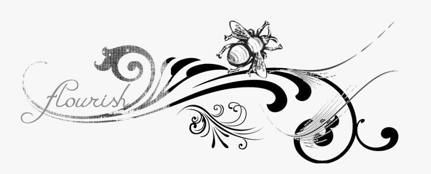 Flourish - Victorian Flourish Clipart, HD Png Download, Free Download