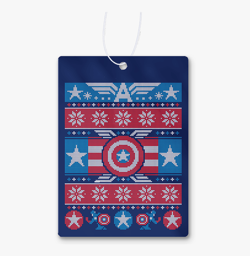 Winter Soldier Air Freshener - Captain America Ugly Christmas Sweater T Shirt, HD Png Download, Free Download