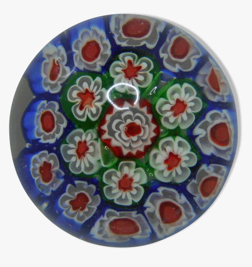 "Murano Millefiori Flower Parchment Paper Press""  Src=""https - Circle, HD Png Download, Free Download"