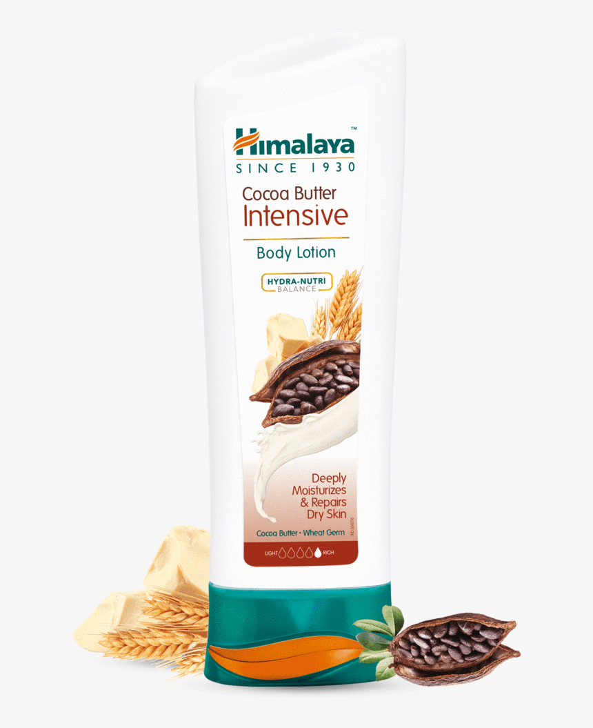 Cocoa Butter Intensive Body Lotion 200ml - Himalaya Cocoa Body Lotion, HD Png Download, Free Download