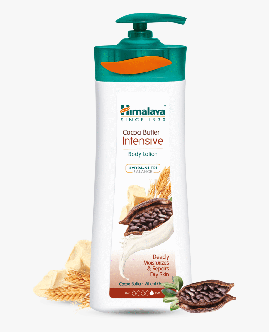 Cocoa Butter Intensive Body Lotion 400ml - Himalaya Cocoa Butter Body Lotion, HD Png Download, Free Download