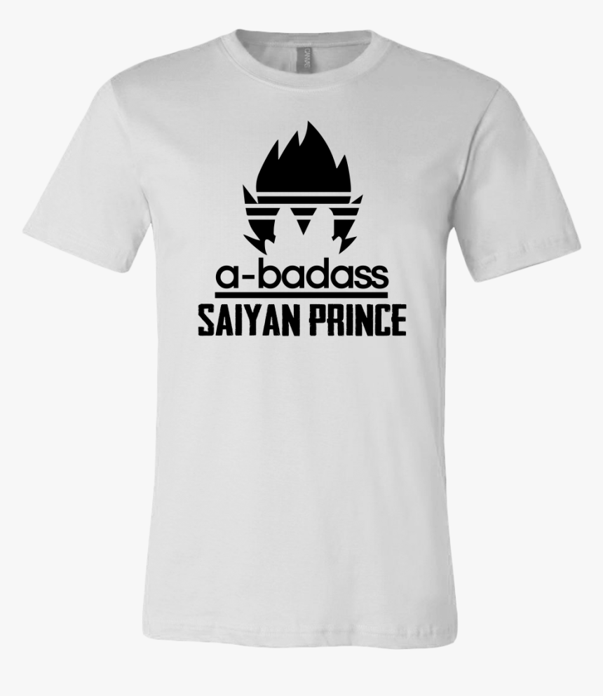 Son Goku Shirt A Badass Saiyan Prince Shirt Dragon - T-shirt, HD Png Download, Free Download