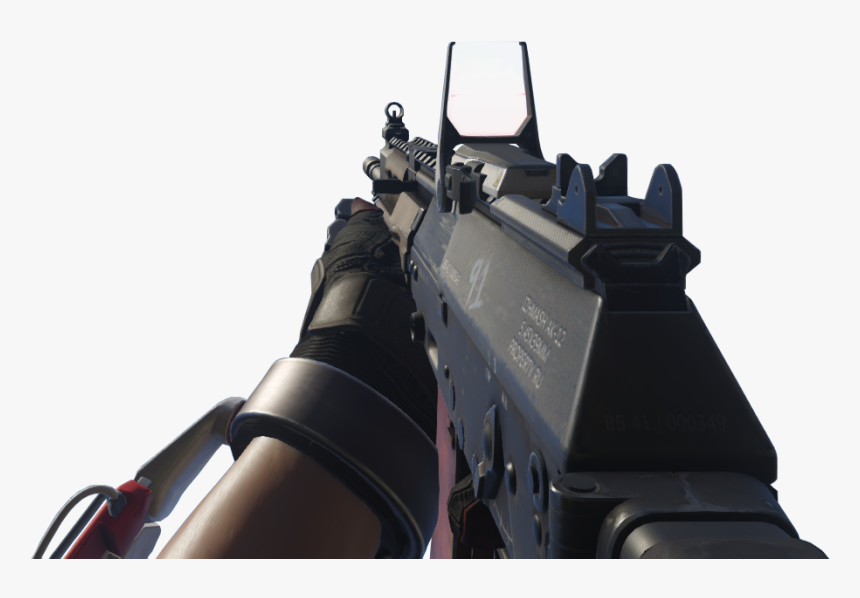 Call Of Duty Wiki - Ak12 Red Dot, HD Png Download, Free Download