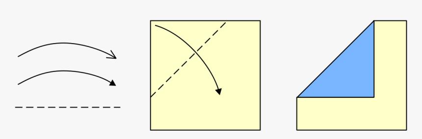 Full Arrow Symbol Origami, HD Png Download, Free Download