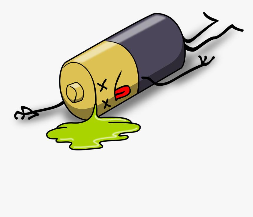 Iphone Battery Life - Dead Battery Cartoon, HD Png ...