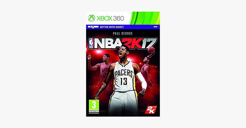 Nba 2k17 - Nba 2k17 Xbox 360, HD Png Download, Free Download