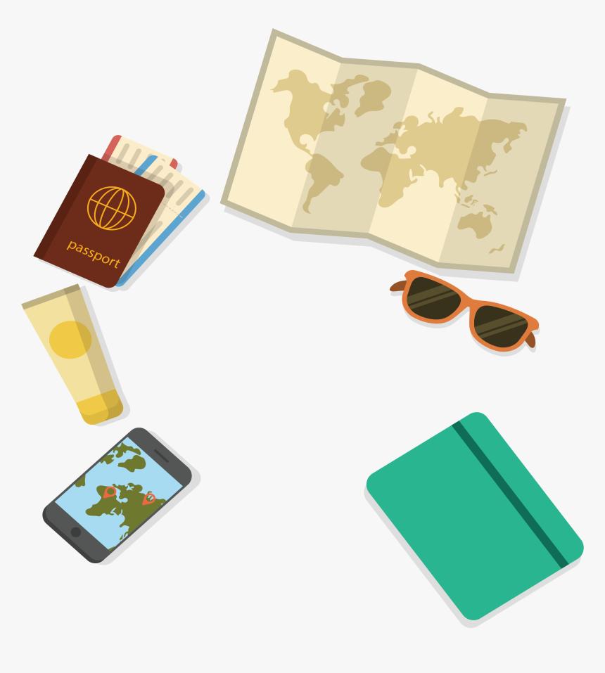 Transparent Passport Clipart - Travel Visa, HD Png Download, Free Download