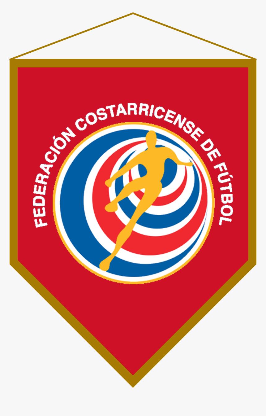 Logo Banderín Costa Rica - Costa Rican Football Federation, HD Png Download, Free Download