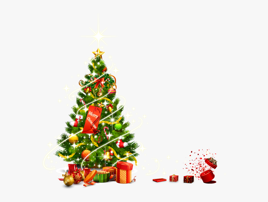 Transparent Abstract Christmas Ornament Clipart - Christmas Tree Vector Png, Png Download, Free Download