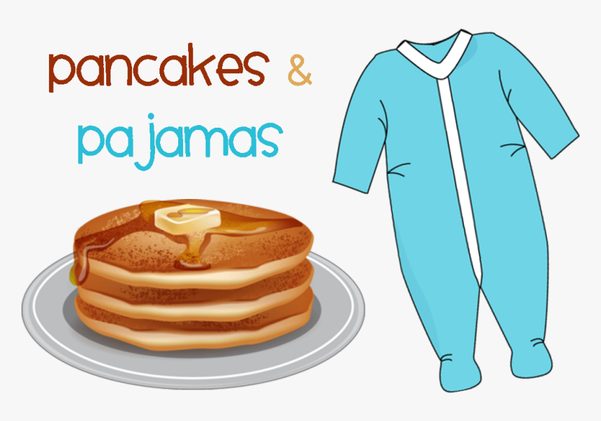 Christmas Cliparts Png Clipartix - Pancake And Pajama Day, Transparent Png, Free Download