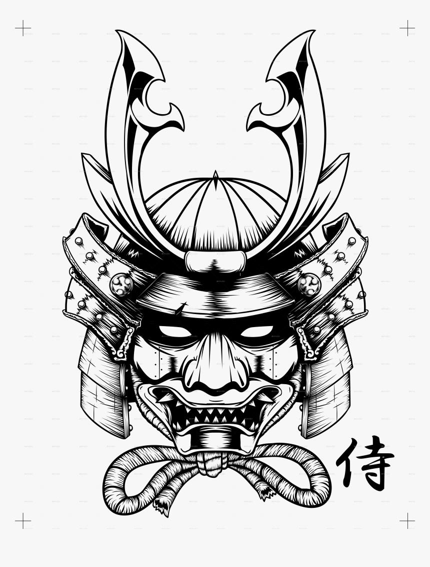 Clip Art Skull Vector Ubisafe Mask - Transparent Samurai Helmet Png, Png Download, Free Download