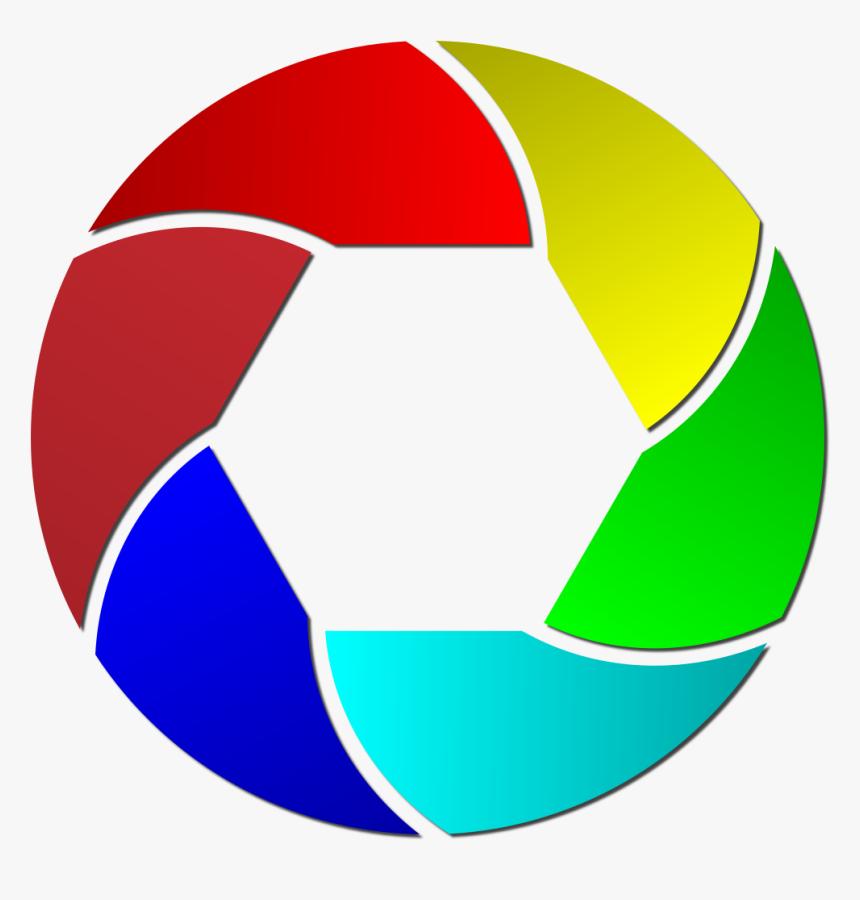 Transparent Lens Clipart - Png Format Logo Camera Png, Png Download, Free Download