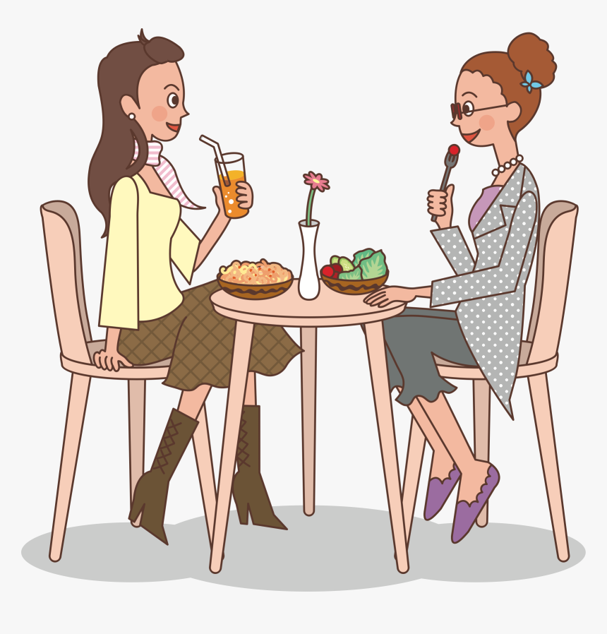 Ladies At Lunch Big - Ladies Who Lunch Free, HD Png Download, Free Download