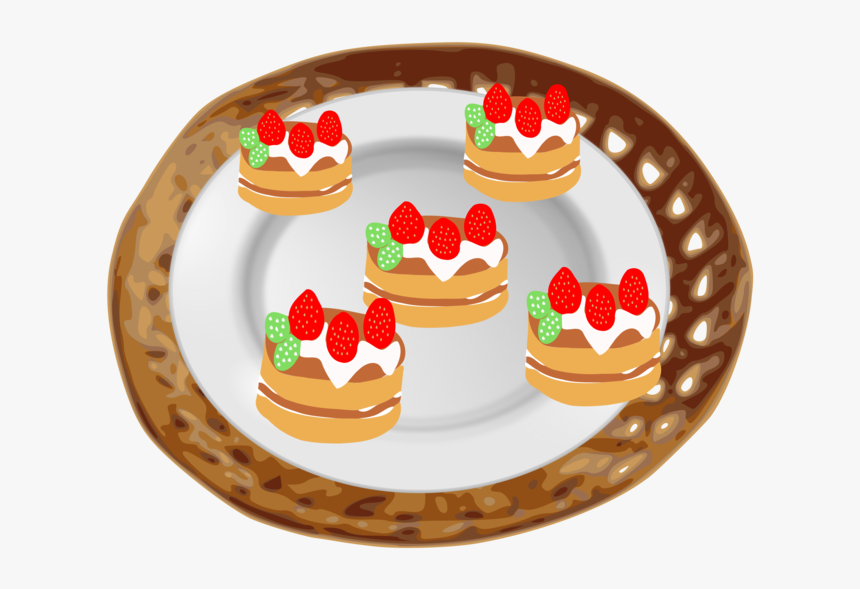 Plate,cuisine,food - Clip Art, HD Png Download, Free Download