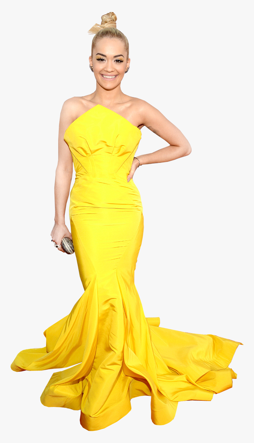 Rita Ora Transparent Background Png Image - Gown, Png Download, Free Download