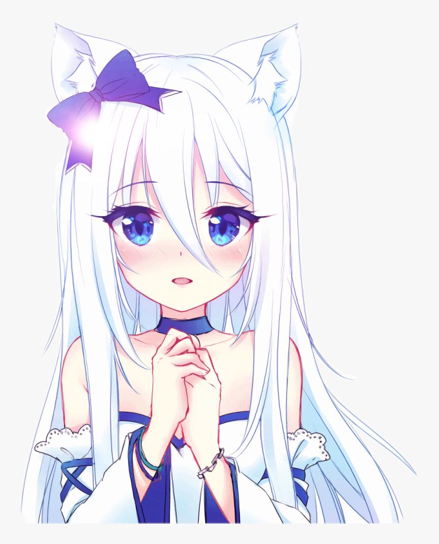 Transparent Neko Girl Png - Gambar Anime Neko Girl, Png Download