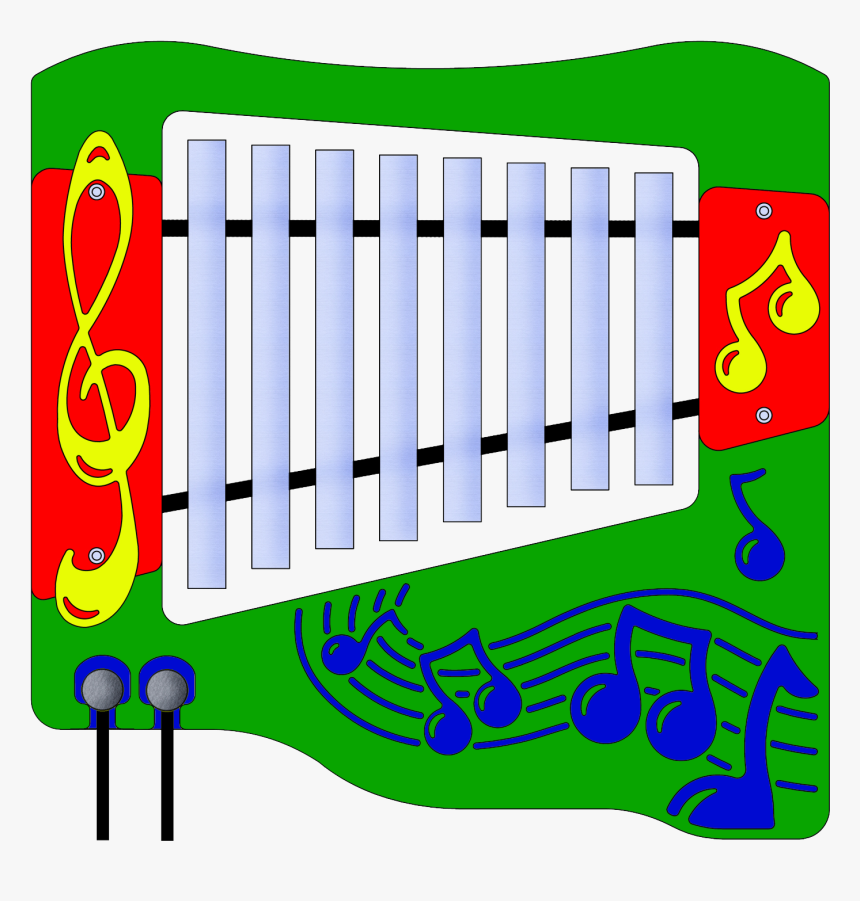 Adding This Music Panel To Your Playground Equipment, HD Png Download, Free Download