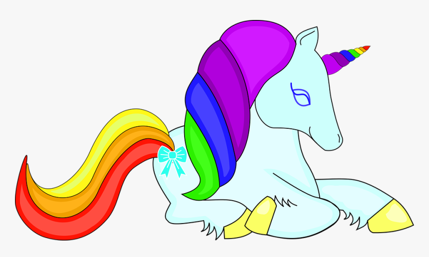 Unicorn Rainbow Cute Pretty Colorful Horse Animal Kepala Kartun Kuda Poni Cantik Hd Png Download Kindpng