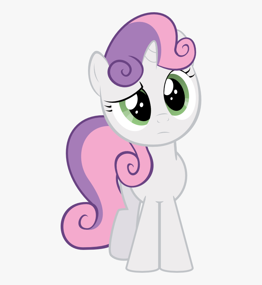 Sweetie Belle Confused Png Download My Little Pony Movie Sweetie Belle Transparent Png Kindpng
