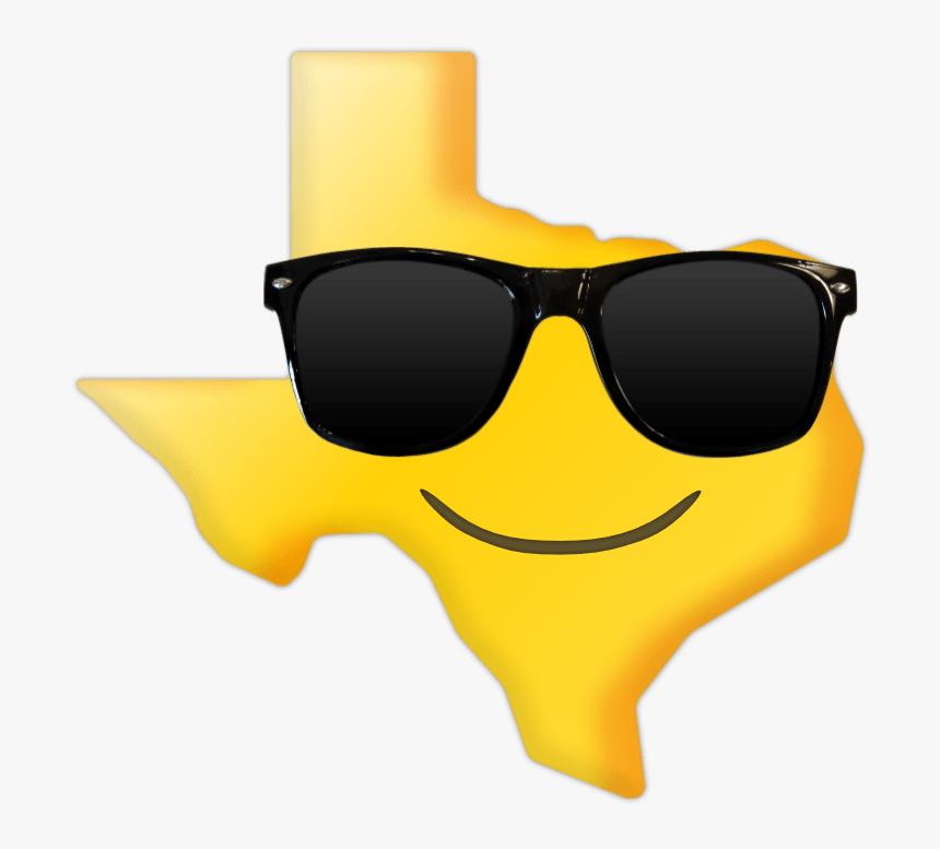 Emoticon Texas Flag Emoji, HD Png Download, Free Download
