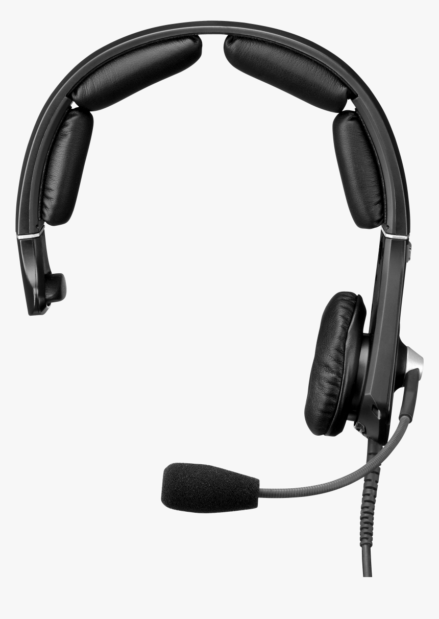 Stage Manager Cliparts Headset Clip Freeuse Hearing - Headphones With Microphone Png, Transparent Png, Free Download