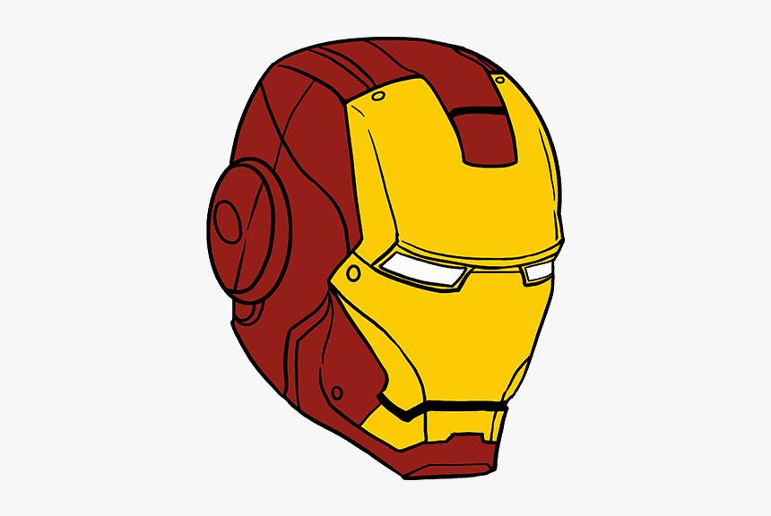 Iron Man Drawing Helmet, HD Png Download, Free Download