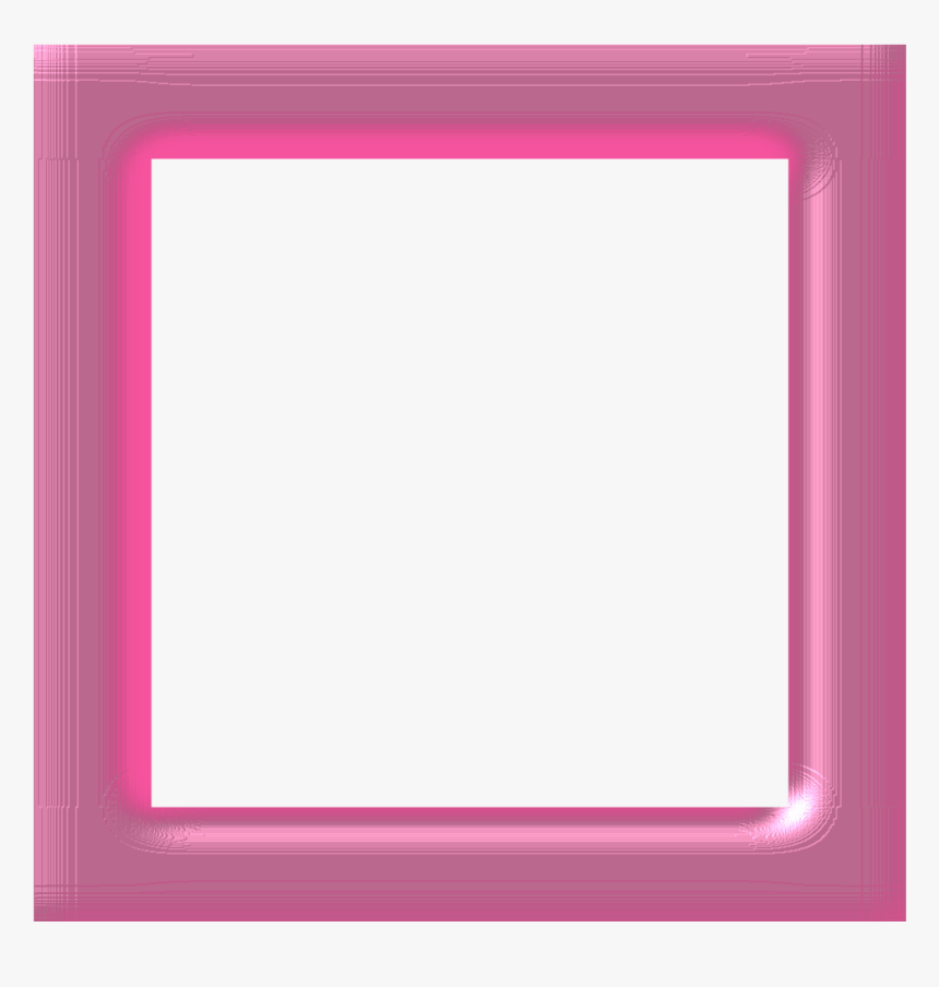 Transparent Moldura Para Fotos Em Png - Moldura Rosa Png Fundo Transparente, Png Download, Free Download