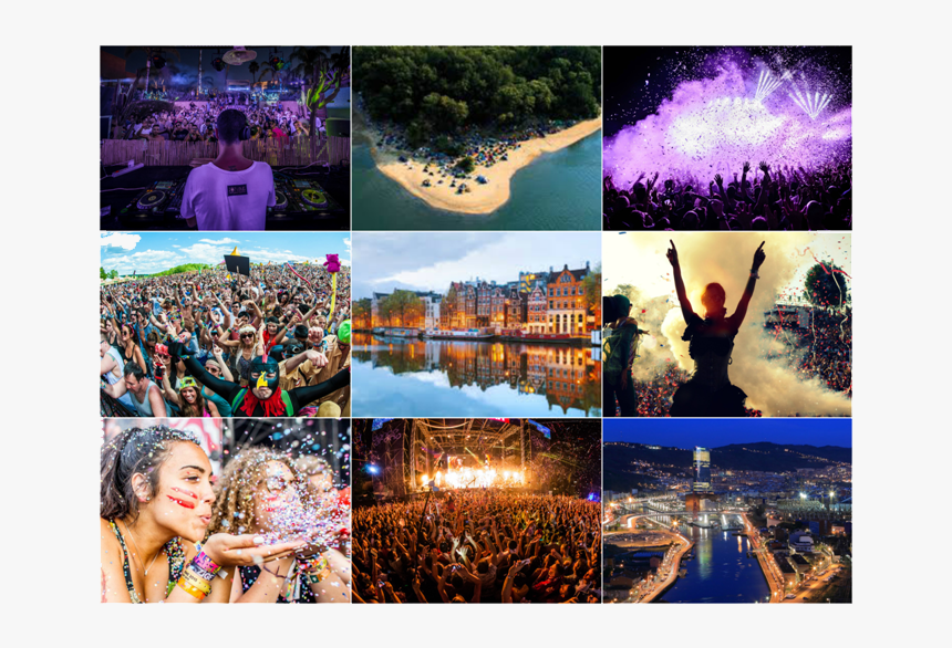 Collage Of International Festivals, HD Png Download, Free Download