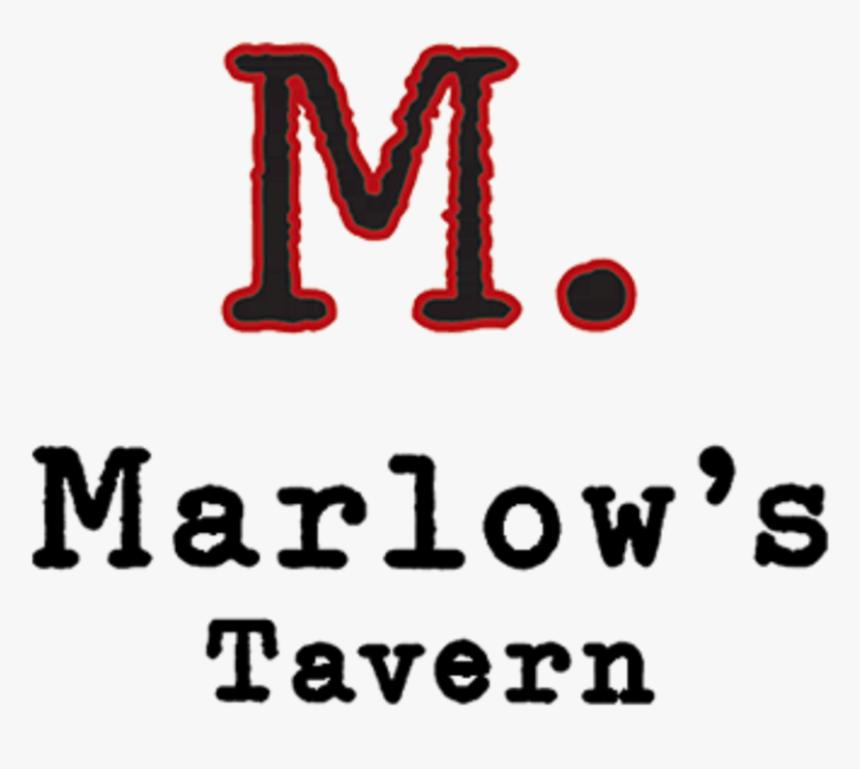 Neon Signs Alpharetta Ga - Marlows Tavern Logo Png, Transparent Png, Free Download