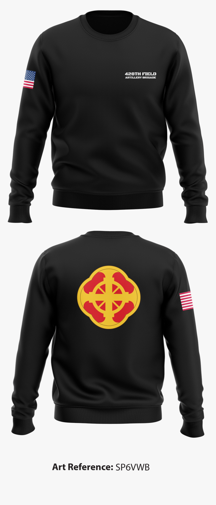 428th Field Artillery Brigade Crew Neck Sweatshirt - Task Force 2 Panther Shirt, HD Png Download, Free Download