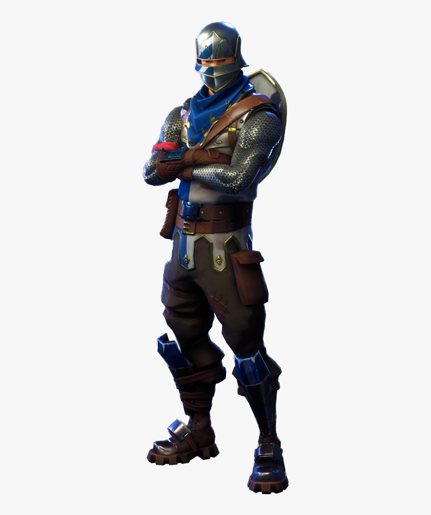 Fortnite Blue Squire - Black Knight Fortnite Png, Transparent Png, Free Download
