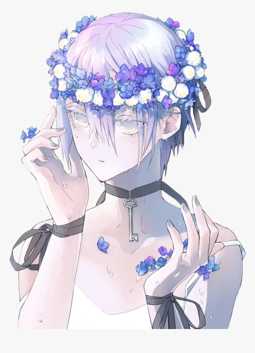 Transparent Anime Guy Png - Aesthetic Purple Anime Girl, Png Download, Free Download