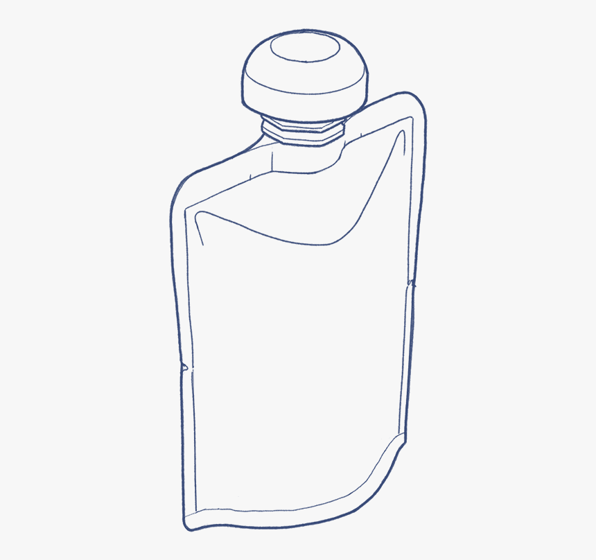 Bottom Gusset Cheerpack Icon - Glass Bottle, HD Png Download, Free Download