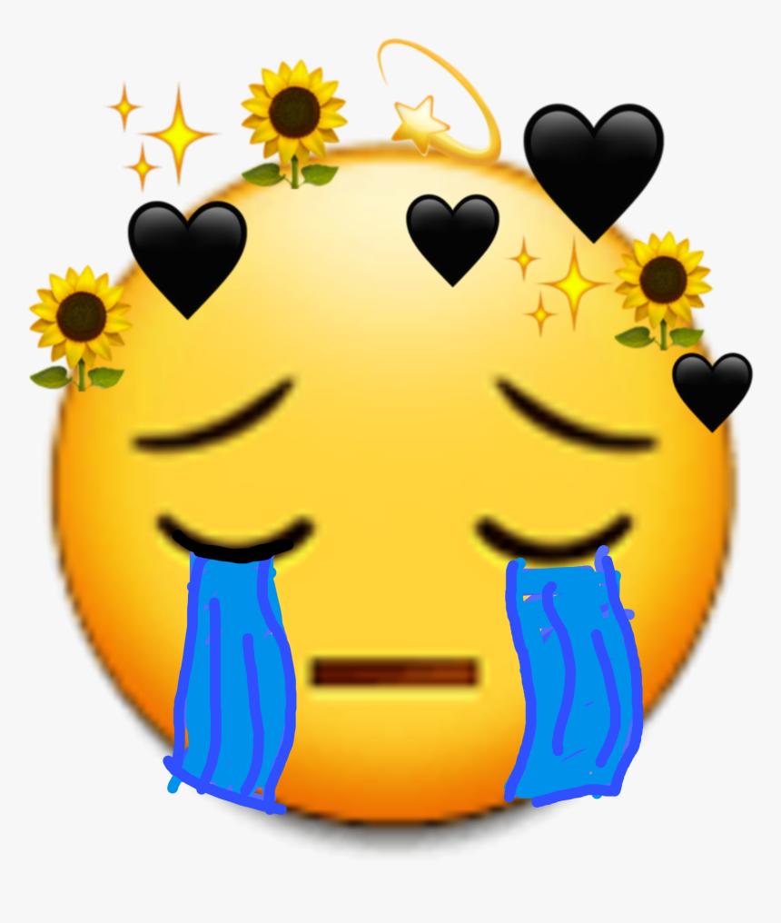 Triste Emoji Emoticon Happy Edit Picsart Desenho Flower