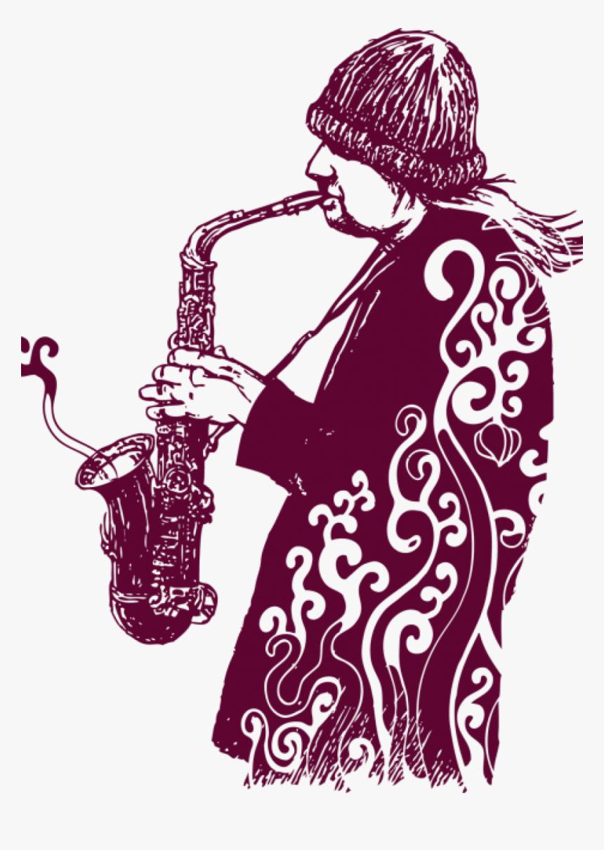 Saxophone Art Wallpaper Iphone, HD Png Download, Free Download