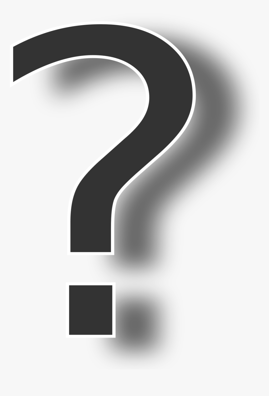 Question Mark Png Shadow, Transparent Png, Free Download