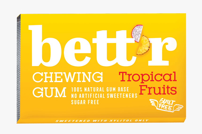 Chewing Gum Tropic Fruits - Graphic Design, HD Png Download, Free Download