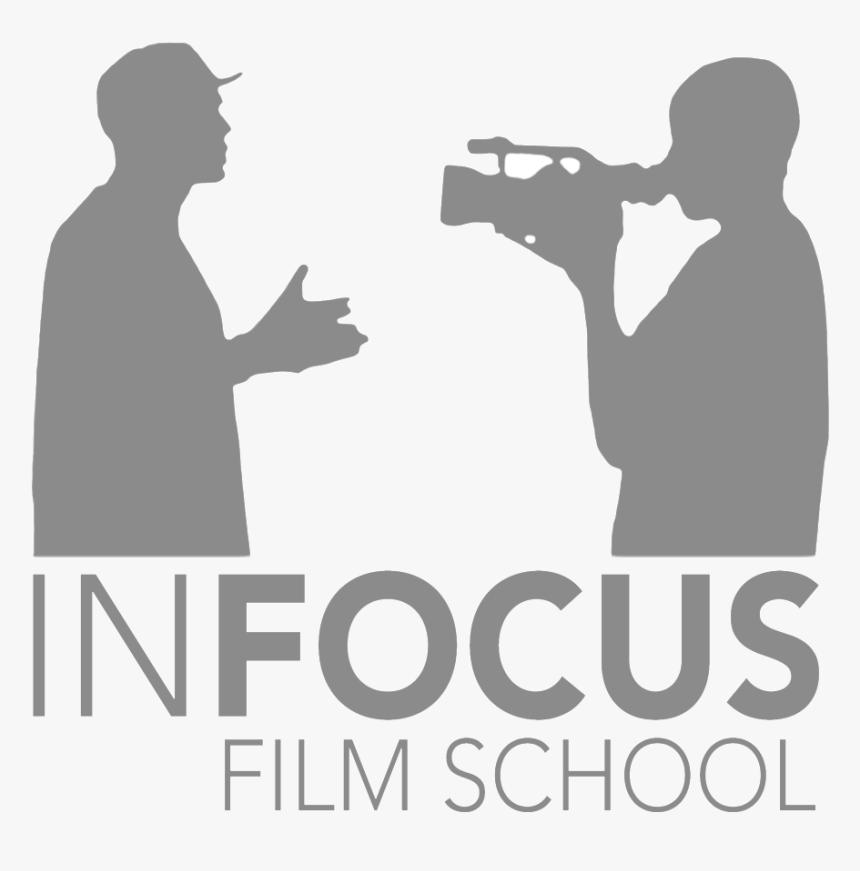 Grey Square - Infocus Film School Logo, HD Png Download, Free Download