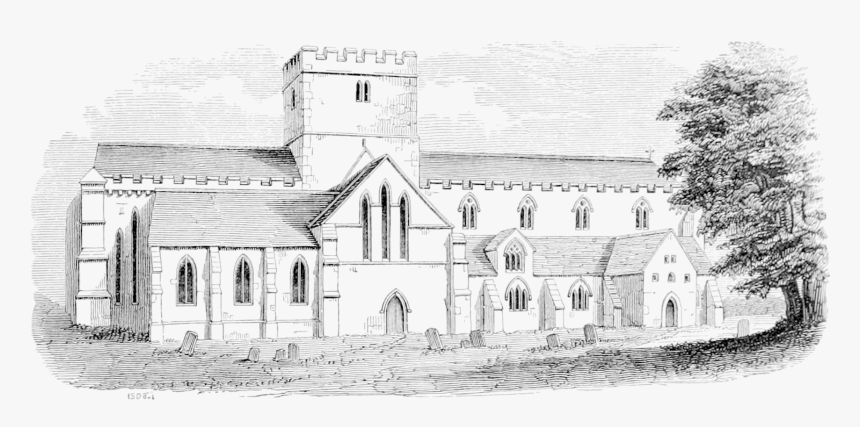 Archaeological Journal, Volume 7, 0047a - Almshouse, HD Png Download, Free Download