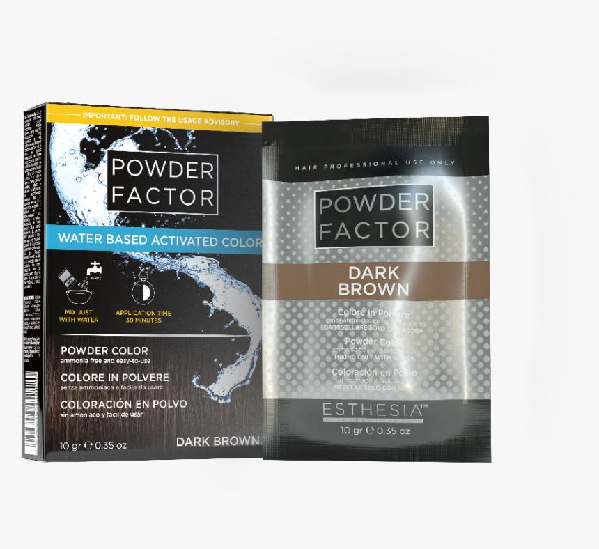 Esthesia Powder Factor Dark Brown Monodose 1 - Eye Shadow, HD Png Download, Free Download