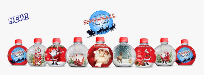 Fruit Water Splash Clipart Ball - Plastic Bottle, HD Png Download, Free Download