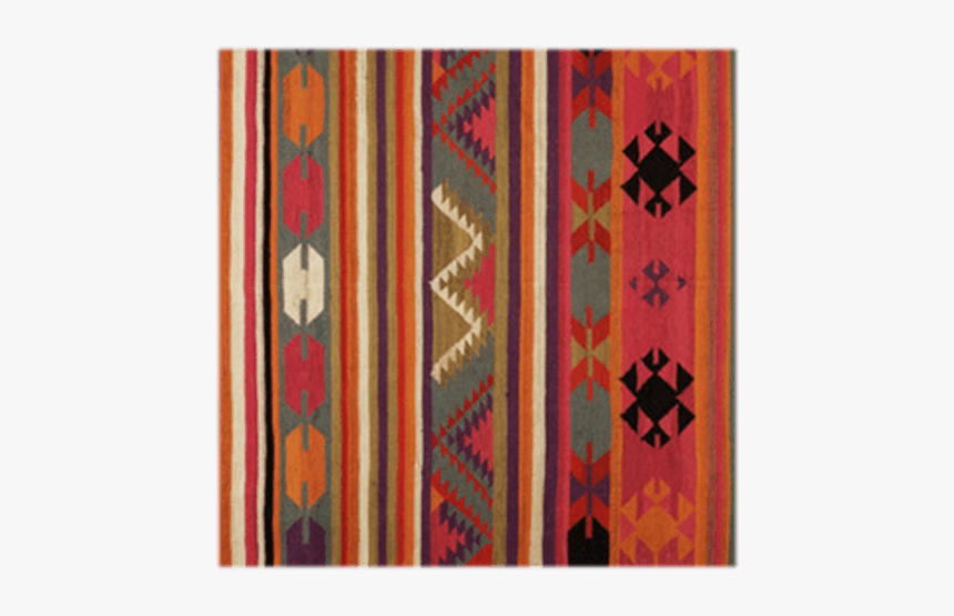Multicolored Indian Inspiration Carpet - Carpet, HD Png Download, Free Download