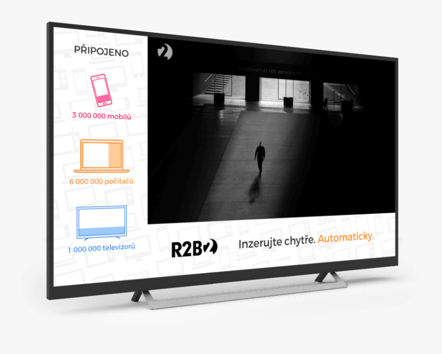 Now Even The Biggest Banners Can Be Bought Programmatically - L Shaped Banner Tv, HD Png Download, Free Download