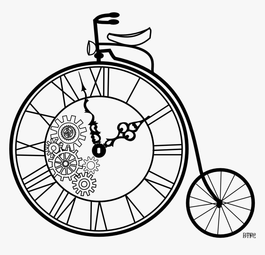 Clock Clipart Steampunk Steampunk Clock Gear Drawing Hd Png Download Kindpng