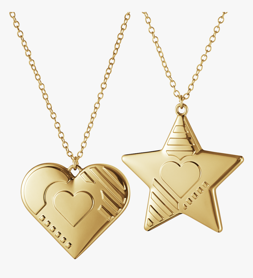 2019 Ornament Set, Heart And Star - Heart And Star Georg Jensen Ornaments, HD Png Download, Free Download