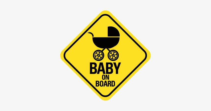 Baby On Board - Winding Right Road Signs, HD Png Download, Free Download