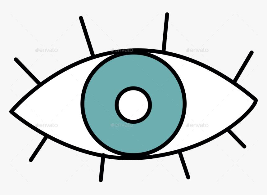 Illuminati Eye Clip Art, HD Png Download, Free Download
